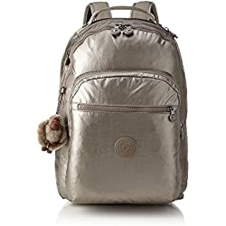 Kipling - CLAS SEOUL - Mochila grande - Metallic Pewter - (Dorado)