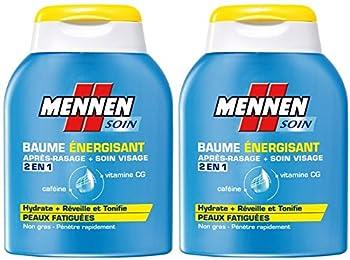 Mennen - Baume Energisant 2 en 1 Homme après-Rasage + Soin Visage pour Peaux Fatiguées - 100 ml - Lot 2