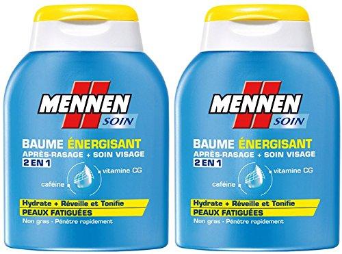 Mennen - Baume Energisant 2 en 1 Homme après-Rasage + Soin Visage...
