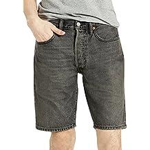 Levi's Hombre 501 Heck Hemmed Denim Shorts, Gris