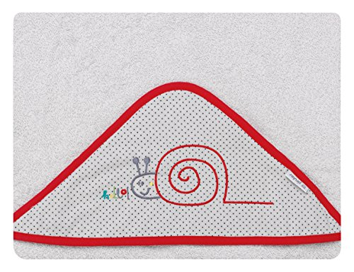 pirulos 00713430–maxicapa, Design Be Happy, 100x 100cm, grau