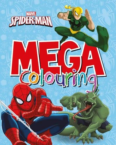 Marvel Spider-Man Mega Colouring por Parragon Books Ltd