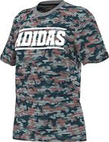 Adidas essentials logo tee t-shirt pour femme kaki Gris / Verde / Rojo / Blanco