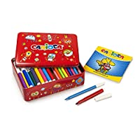 Carioca 42736 - 100 Color Kit Box 100 Pens and 1 Colouring Book