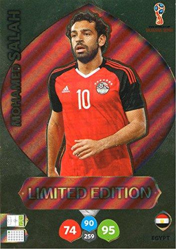Adrenalyn XL FIFA World Cup 2018Rusia–Mohamed Salah tarjeta de comercio de edición limitada–Egipto