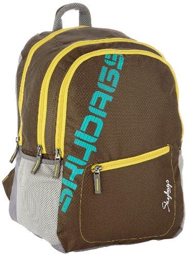 Skybags Neon Brown Casual Backpack (NEON01BRN)