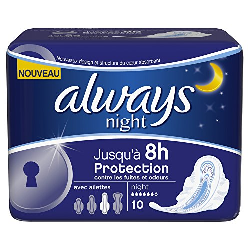 always-serviettes-hygieniques-night-avec-ailettes-x-10-lot-de-4
