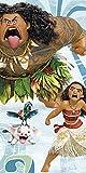 Disney - Vaiana Serviette de Plage, WD17854, 140 x 70 cm