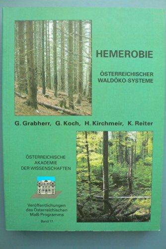 Hemerobie österreichischer Waldökosysteme