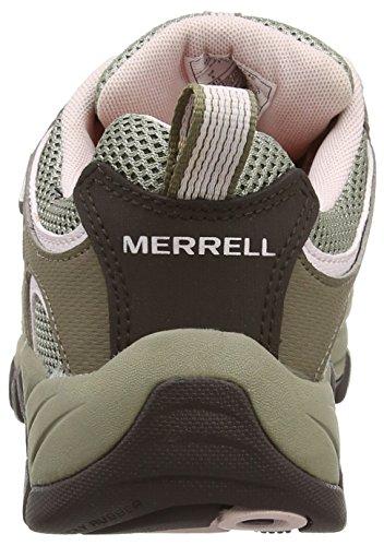 Merrell - Ridgepass, Scarpe da arrampicata Donna Multicolore (Brown/Brindle/Pale Lilac)