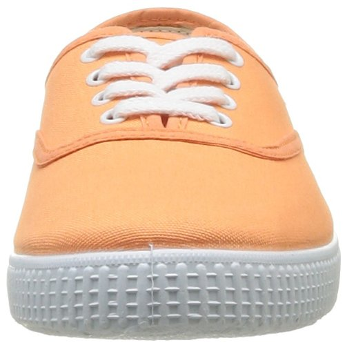 Victoria Inglesa Lona, Baskets Basses mixte adulte Orange (Mango)
