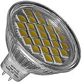 GU5,3 Led Spot réflecteur 5 W = env. 50 W ampoule blanc froid 500 LM MR16 12 V DC