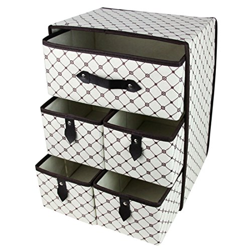 itechor-foldable-drawer-organisersthree-layer-five-drawer-underwear-classified-storage-box-sundries-