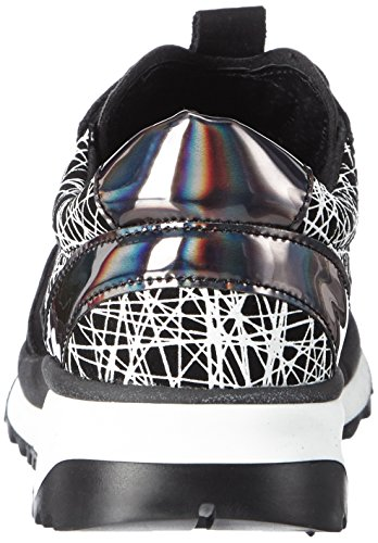 Bronx Brodax Damen Sneakers Mehrfarbig (1082 Black/ black-white)