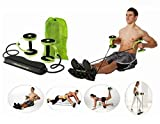 5 Minutes Exercise Roller - As Seen On TV (With Handy Carry Bag) / Complete Body Workout Machine - Revoflex Extreme
