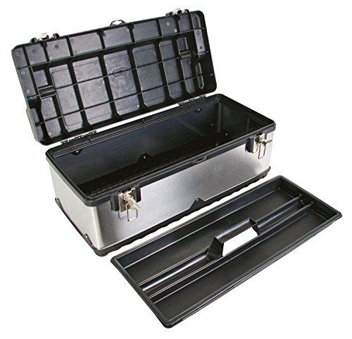 Perel OTBA7590x 280x 275mm Edelstahl Werkzeug Box - 2