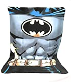 Fleecedecke – Kuscheldecke Fleece Kinder – 140 x 100 cm – Sublimation doppelseitig – 170 g/m2 – Batman – DC Comics