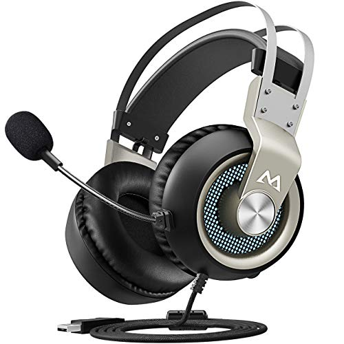 Mpow Auriculares Gaming USB para PC