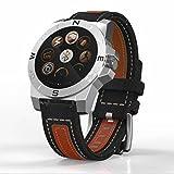 Fitness tracker d'activité, Smart Course Bracelet, montre bracelet Bluetooth avec thermomètre, baromètre, boussole, Sports, fitness tracker, podomètre