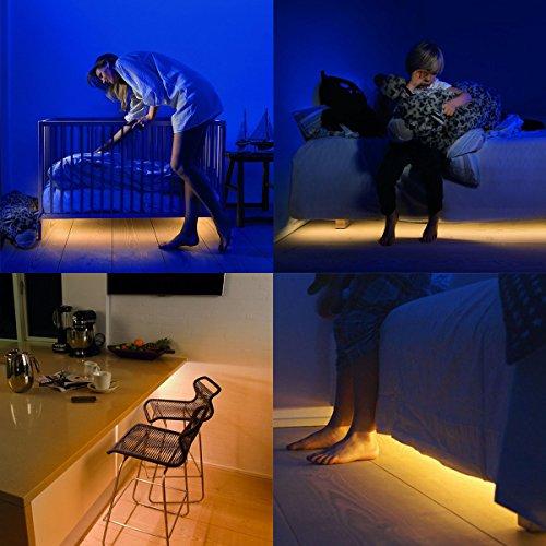 preisvergleich bewegung aktiviert bett licht iuqy flexible led willbilliger. Black Bedroom Furniture Sets. Home Design Ideas