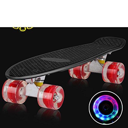 [skateboard]/La Grande Ruota singola curvatura Quattro Ruote/Banana/[spazzola via] Autostrada invece di camminare./Adulto Scooter/I Bambini Piccoli (Grande Magnesio)