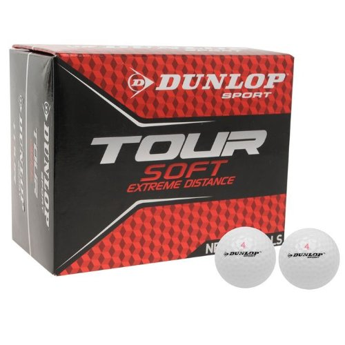 Dunlop Tour Golf Ball 24 Pack[White]