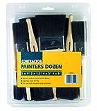T-Class Lot de 12 brosses à peinture pour bâtiment