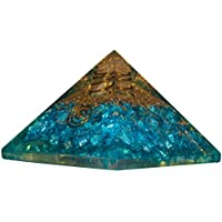 Crocon blau Energetische Kristall Pyramide Onyx Edelstein Energie Generator für Reiki Healing, Aura Cleansing... preisvergleich bei billige-tabletten.eu