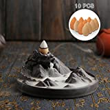 Best Incense Burners - Jeteven Dragon Cone Incense Burner with Cones Ceramic Review