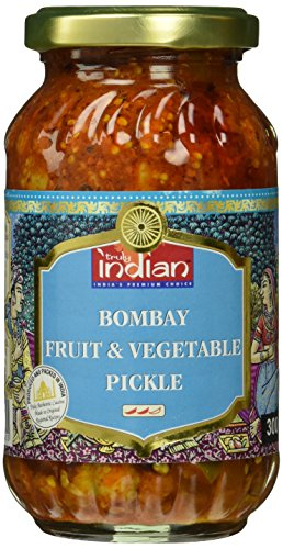 Truly Indian Mixed Pickle, Bombay, 6er Pack (6 x 300 g)