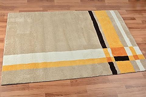 New day®-Living room bedroom carpet mat super soft environmental protection 140*200 160*230 , camel ,