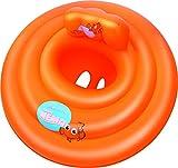 Bestway 91101 - Salvagente Mutandina Rotondo, Swim Safe Abc Step, 69 cm, Arancione immagine