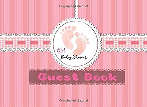 Baby Shower Guest Book : Modern Welcome Baby Message Book, Photo, Registry: Memory Journal, Advice for Parents and Wishes for baby, Guestbook With ... x 6 Inch, 160 Pages. (Cute New Born Diary)