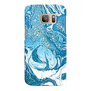 ColourCrust Samsung Galaxy S7 Mobile Phone Back Cover With Abstract Art - Durable Matte Finish Hard Plastic Slim Case
