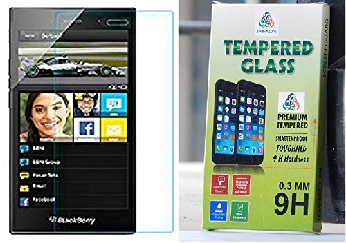 JAIFAON Premium Tempered Glass Explosion Proof Screen Guard for BlackBerry Z3 (Clear)