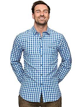 Stockerpoint Trachtenhemd Mitchel azur, M