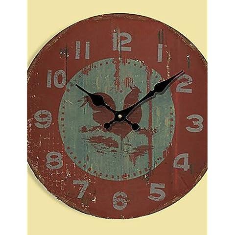 FEI&S moderno DIY Mute Orologio da parete grande casa arredamento ufficio dono #33