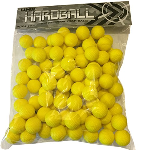 Preisvergleich Produktbild NERF RIVAL REFILL AMMO - 100 BALLS. Hardball Brand and fully compatible with Apollo and Zeus, HIR Standard