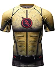 Cody Lundin Homme T-shirts Fashion Superhéros Sport Fitness Strong Men's Chemise
