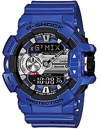 Casio G-Shock Analog-Digital Blue Dial Men's Watch - GBA-400-2ADR (G558)