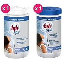 HTH Pack adición Spa 1x Pastillas de bromo + 1x Choque sin cloro