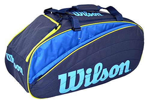 Wilson IV 12 Duffle Bag Blue/Yellow Tennistasche