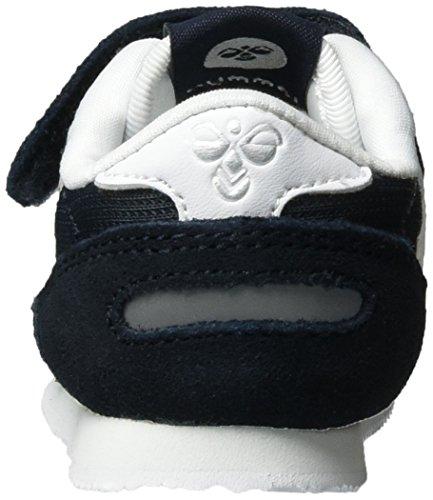 Hummel Reflex Infant, Scarpe da Ginnastica Basse Unisex – Bambini Blu (Total Eclipse)