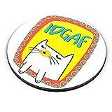 PosterGuy Fridge Magnet - Idgaf   Designed by: Project Kalakari