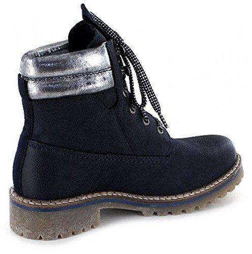 s.Oliver Damen 25204 Combat Boots Night Blue