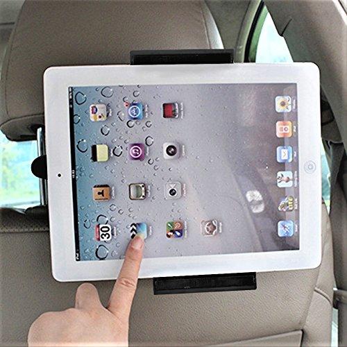 ATPWONZ KFZ-Kopfstützen Kopfstützen Halterung Halter Auto für Tablet-PCs, Apple iPad 2/3/4/Mini/Air, 14 - 19cm