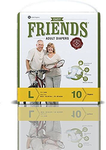 Friends Adult Diaper (Easy) – Large
