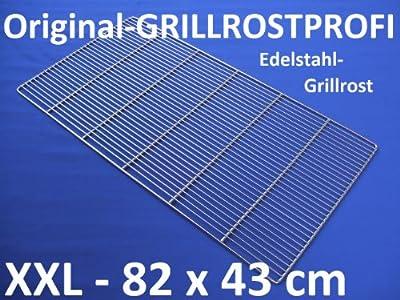 Edelstahl-Grillrost 82 x 43 cm