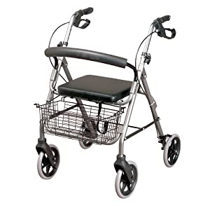 Homecraft Four Wheeled Rollator with Cable Breaks