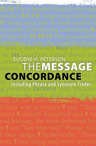 The Message Concordance: Including Phrase and Synonym Finder -